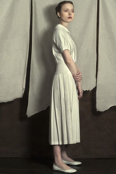 Romina Ressia, 'Woman Wearing a White Dress (Series: Memories From the Past)', 2014