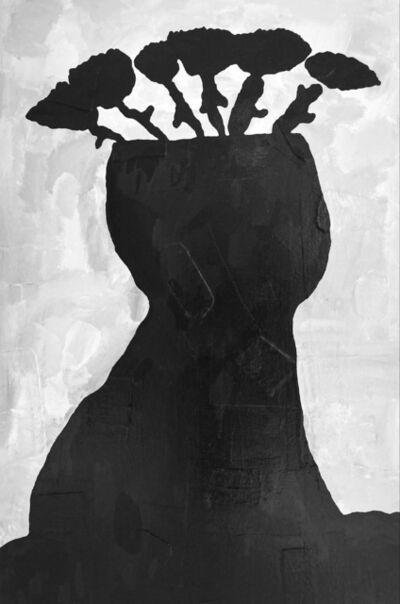 Donald Baechler, 'Black Flowers', 2012-2015