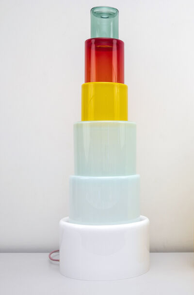 Erica Rosenfeld, 'CAKE TOWER LIGHT III', 2019