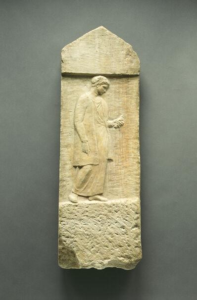 'Grave Stele of Myttion', ca. 400 BCE