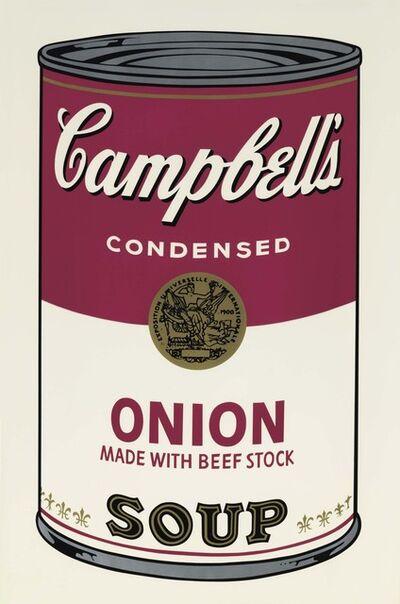 Andy Warhol, 'Onion Soup', 1968