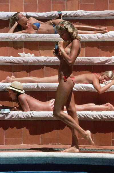 Slim Aarons, 'Catherine Wilke, Capri, Italy', 1980