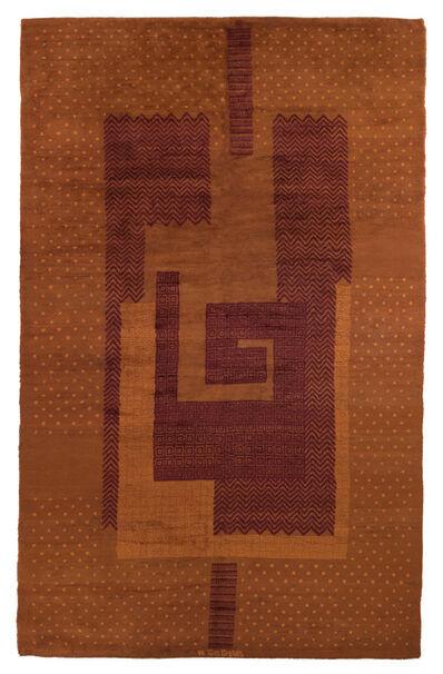 Ivan da Silva Bruhns, 'An Important Carpet', circa 1930
