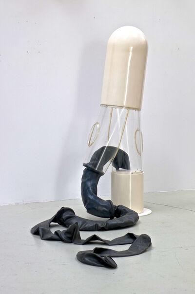 Joachim Bandau, 'Hose durchsichtig', 1969