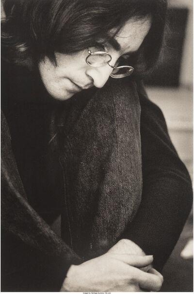 Ethan Russell, 'John Lennon Listening to the White Album', 1968