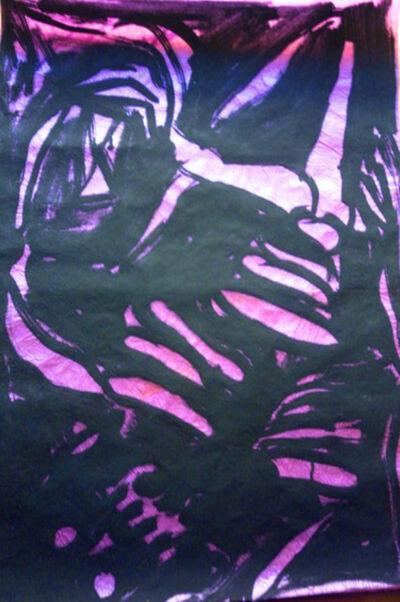 "Jesus ""Chucho"" Reyes Ferreira, 'Skeleton in pink', ca. 1970"