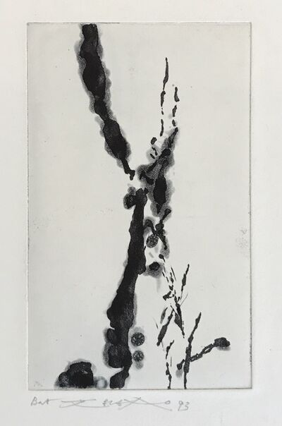 Zao Wou-Ki 趙無極, 'Rompre le cri (374)', 1993