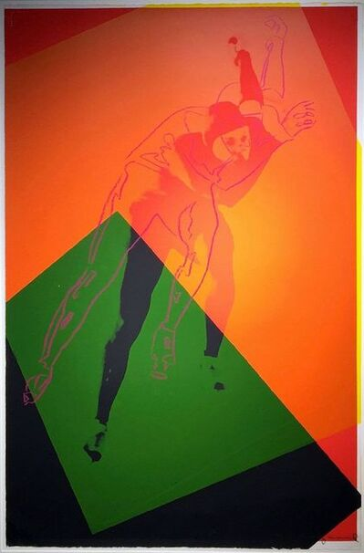 Andy Warhol, 'Speed Skater (FS II.303)', 1983