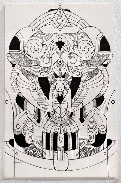 Fernando Chamarelli, 'Two Moons drawing', 2018