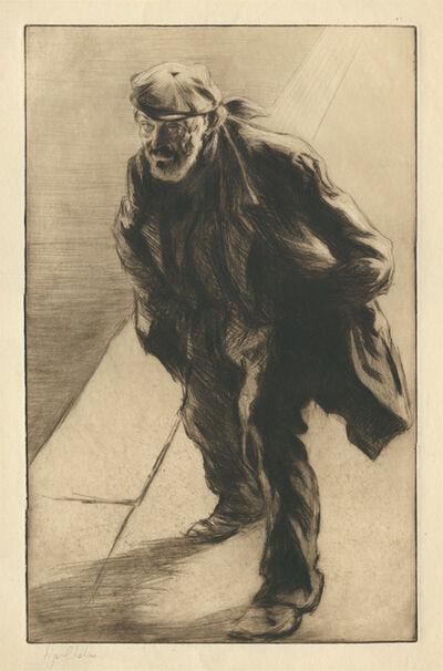 Edgar Chahine, 'Sans Travail', 1903