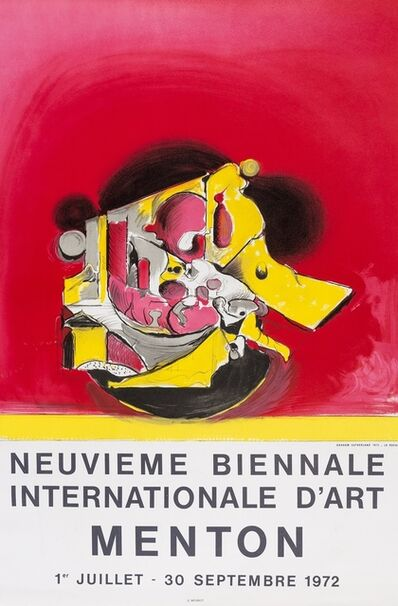 Graham Sutherland, 'Neuvieme Biennale Internationale D'art Menton (two posters)', 1972