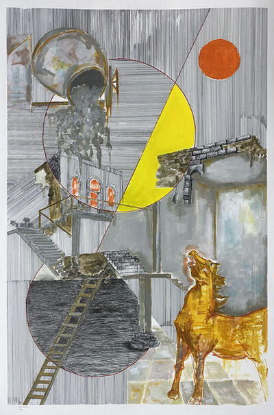 Yazan Abu Salameh, 'Abandoned Horse', 2021