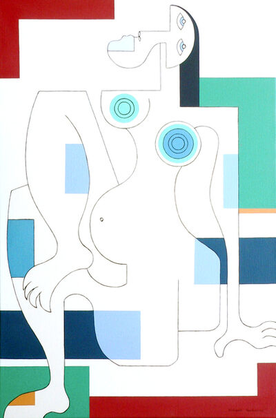Hildegarde Handsaeme, 'Women in Spring', 2009