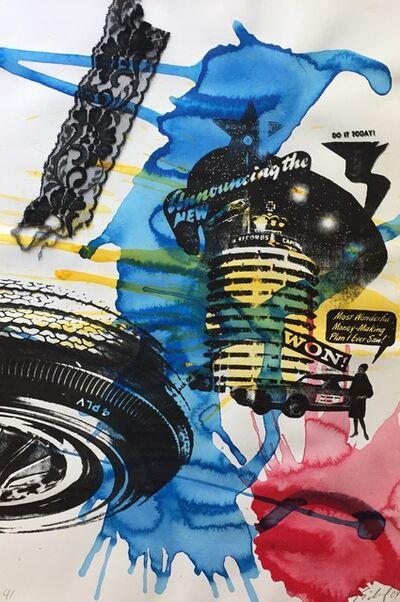 Kenny Scharf, 'Untitled (Won)', 2004
