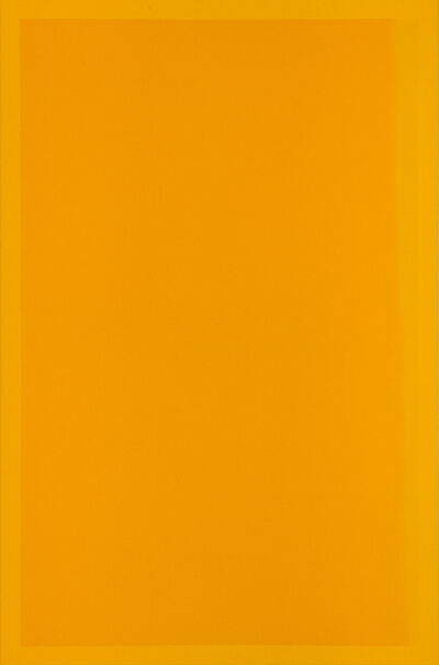 Mathew McWilliams, 'Edges (yellow)', 2019