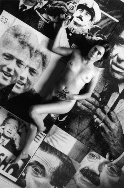 Liliana Maresca, 'Untitled. Public image - High spheres | Sin título. Imagen pública - Altas esferas', 1993