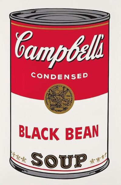 Andy Warhol, 'Campbells Soup Black Bean II.44', 1968