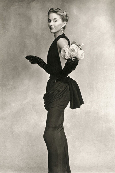 Irving Penn, 'Woman with Roses', 1950
