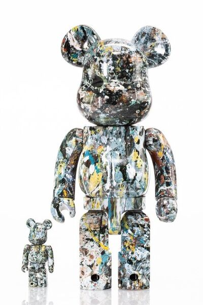 BE@RBRICK X Jackson Pollock Studio, 'Jackson Pollock 400% and 100% (two works)', 2016