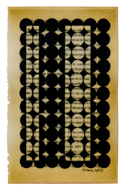 Oriane Stender, 'Untitled pages drawings (page)'