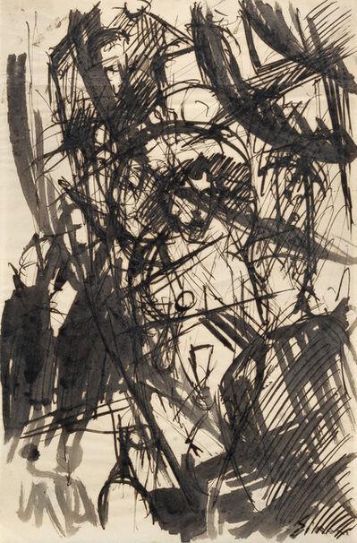 Mario Sironi, 'Composizione futurista', 1915 circa