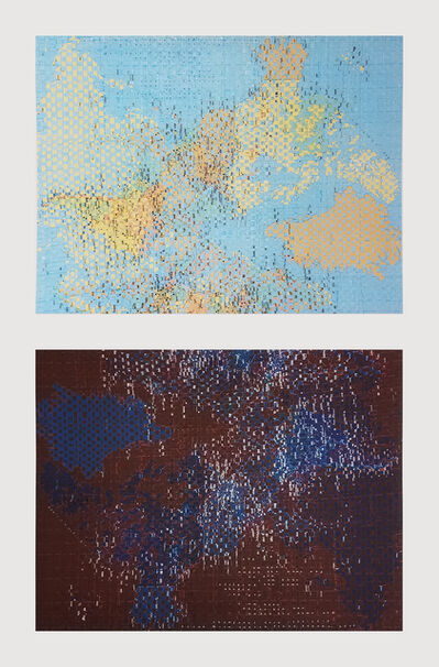 Diane Samuels, 'Under the Same Sky, Day Sky/Under the Same Sky, Night Sky', 2020