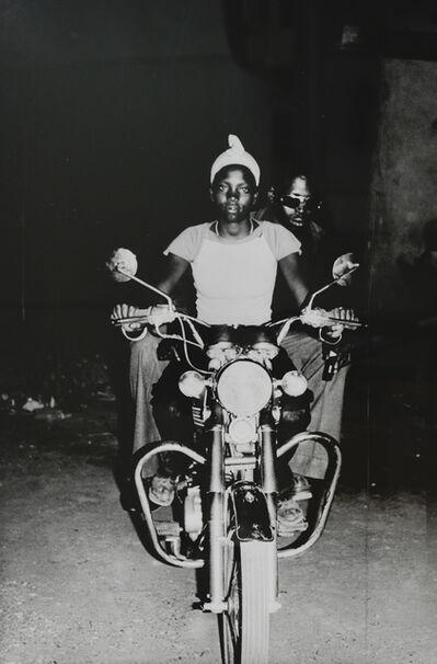 Malick Sidibé, 'On the Suzuki', 1975