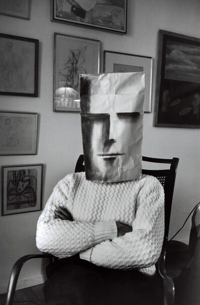 Inge Morath, 'Untitled. (from the Mask Series with Saul Steinberg). Photograph by Inge Morath © The Inge Morath Foundation/MAGNUM PHOTOS. Mask by Saul Steinberg © The Saul Steinberg Foundation/ARS, NY', 1961