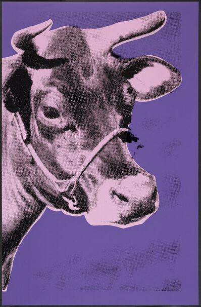 Paul Stephenson, 'Cow II- Pink On Purple', 2021