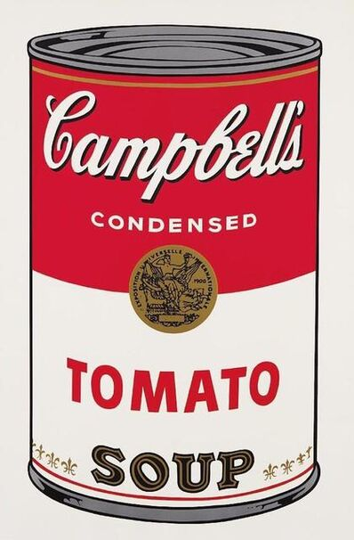 Andy Warhol, 'Campbells Tomato Soup', 1968