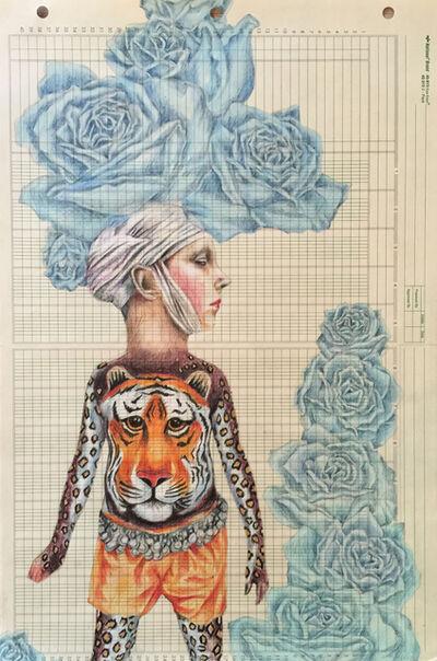 Lori Field, 'Tigerlady 1', 2014