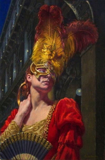 John DeMartin, 'Woman in Red', 2017