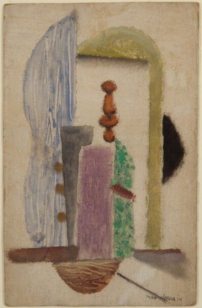 Max Weber, 'Abstract', 1914