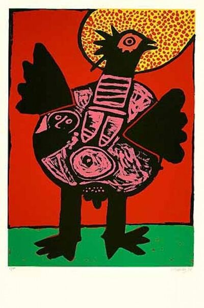 Guillaume Corneille, 'Big bird (Grosser Vogel)', 1991