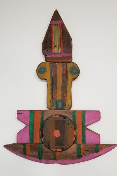 Betty Parsons, 'Figure on a Boat', 1972