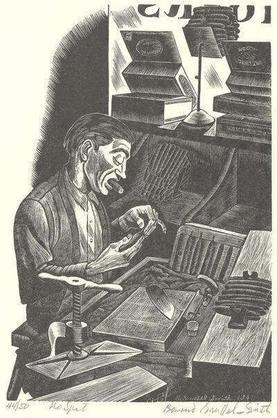 Bernard Brussel-Smith, 'No Spit', 1941