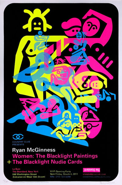 Ryan McGinness, 'Signed Ryan McGinness Women Screenprint ', 2010