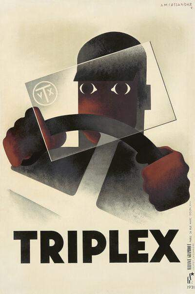 A.M. Cassandre, 'Triplex. ', 1931