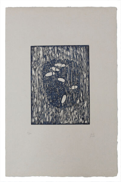 Méret Oppenheim, 'Kopf eines Ertrunkenen, dritter Zustand', 1966