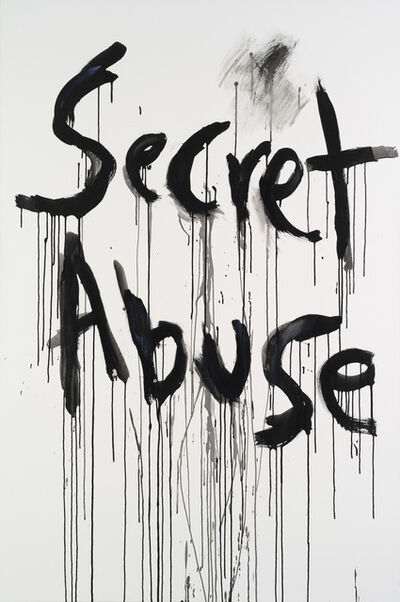 Kim Gordon, 'Secret Abuse', 2009
