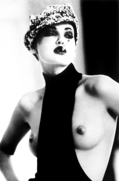Ellen von Unwerth, 'La Garçonne, Nadja Auermann, Paris', 1991