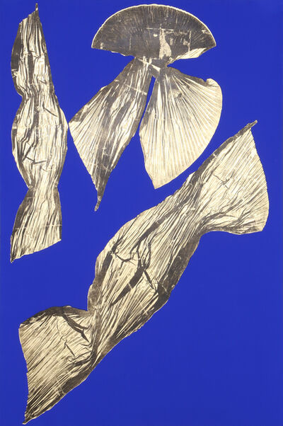Lynda Benglis, 'Dual Nature (Blue)', 1991