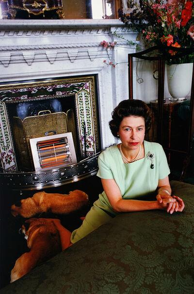 David Montgomery, 'Queen Elizabeth with Corgis', 1967 (Printed 2018)