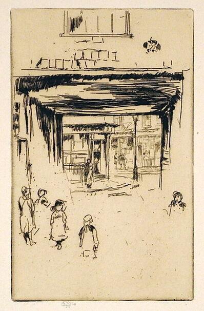 James Abbott McNeill Whistler, 'Drury Lane', 1880