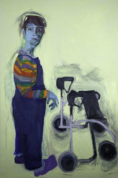 Lucy Jones, 'Wheelie', 2002