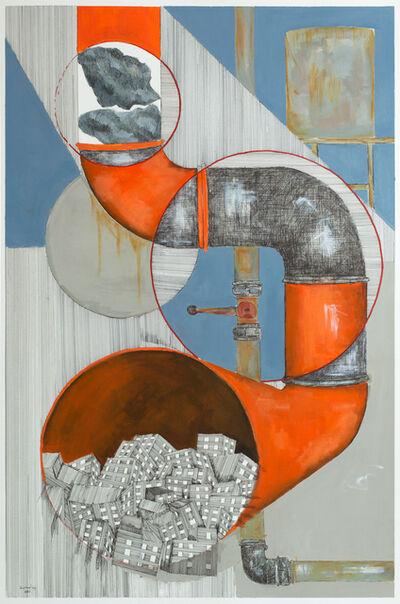 Yazan Abu Salameh, 'Congestion', 2021