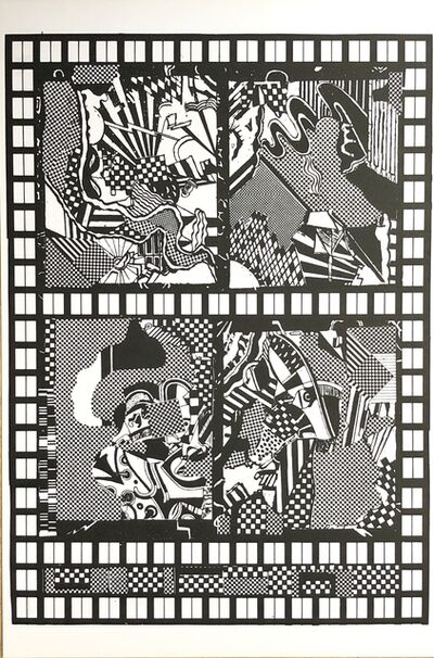 Eduardo Paolozzi, 'The ABC of Z', 1965-1970