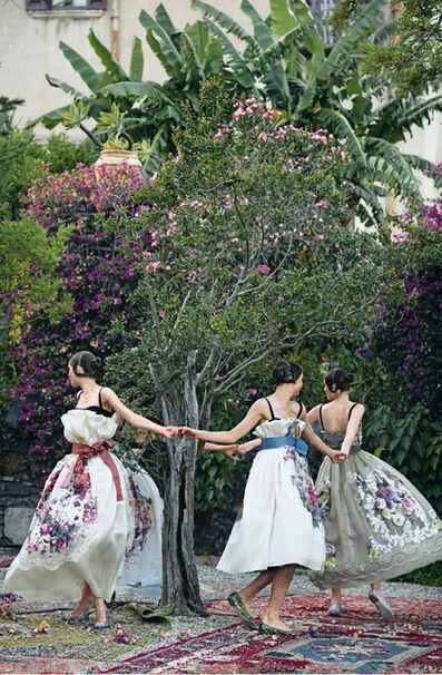 Peter Lindbergh, 'One Enchanted Evening (Aymeline Valade, Bette Franke, Elza Luijendijk & Zuzanna Bijoch), Taormina, Sicily', 2012