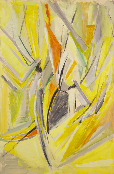 Mildred Bendall, 'Yellow Composition', ca. 1963
