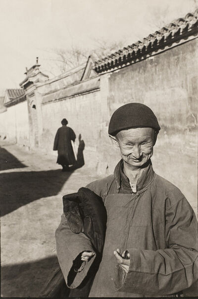 Henri Cartier-Bresson, 'Eunuch of the Imperial Court of the Last Dynasty, Peking, China, December', 1948